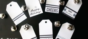 Printable Christmas Holiday Gift Tags | TodaysCreativeBlog.net