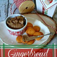Gingerbread Cream Cheese Spread