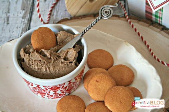 Gingerbread Cream Cheese Spread   TodaysCreativeBlog.net