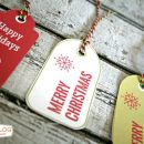 Holiday Gift Tags on TodaysCreativeBlog.net