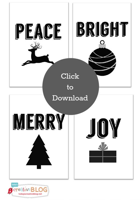 photograph about Printable Christmas Tags Black and White called Cost-free Xmas Reward Tags Todays Inventive Existence