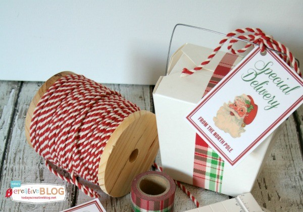Santa's Special Delivery Printable Tags | TodaysCreativelife.com