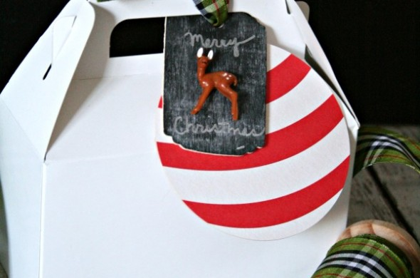 DIY Woodland Gift Tags | TodaysCreativeBlog.net