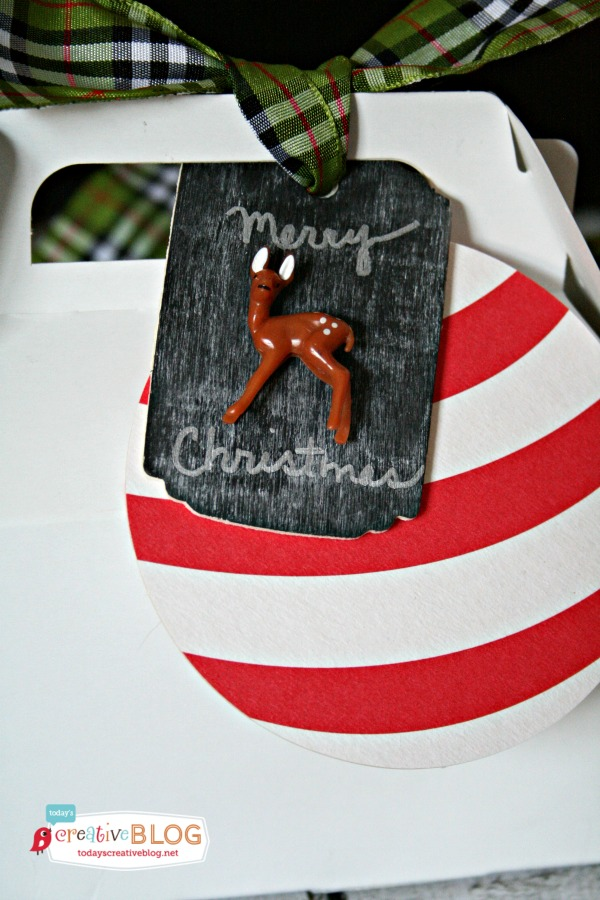 Woodland Deer Gift Tags  DIY Woodland Gift Tags | TodaysCreativeBlog.net