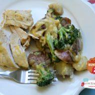 Slow Cooker Cheesy Chicken Broccoli Potato Casserole