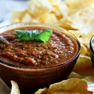 5 Minute Blender Salsa | TodaysCreativeBlog.net