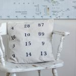 DIY Special Dates Pillow Cover