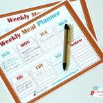 Free Printable Weekly Meal Planner | TodaysCreativeblog.net