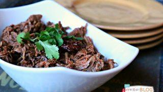Chipotle Pepper Crockpot Shredded Beef Recipe