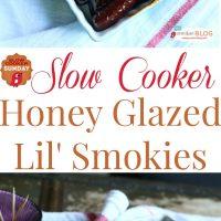 Slow Cooker Honey Glazed Lil' Smokies