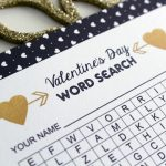 Free Printable Valentine's Day Word Search Activity by Urban Bliss Life for TodaysCreativeBlog.net
