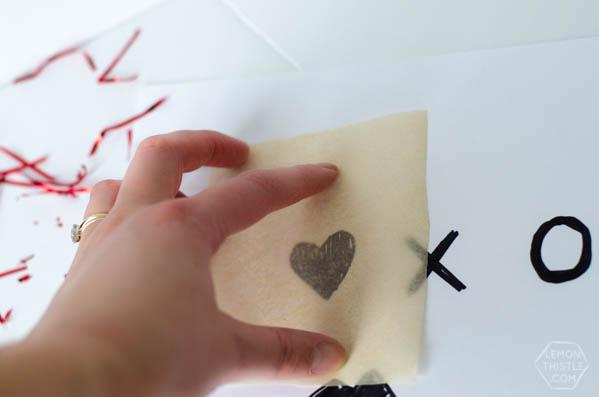DIY Confetti Valentine's Day Cake Toppers | Craft Ideas | TodaysCreativeBlog.net