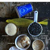 Homemade Bird Suet Recipe