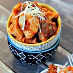 Easy Slow Cooker Recipe - Tortellini and Meatballs | TodaysCreativeBlog.net