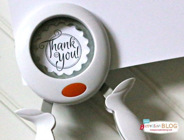 Quick & Easy Thank you Gift - DIY Thank you tags | TodaysCreativeBlog.net