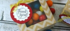 Quick & Easy Thank you Gift - DIY Thank you tag | TodaysCreativeBlog.net
