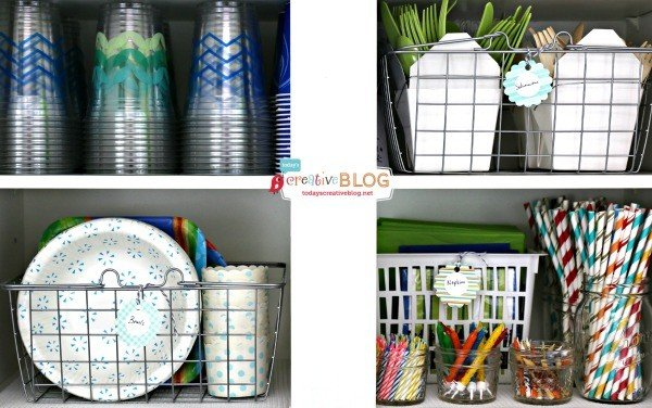 Party Pantry for Party Supplies | TodaysCreativeBlog.net