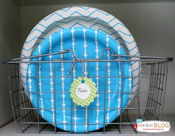Party Pantry for Party Supplies | Paper Plates | TodaysCreativeBlog.net