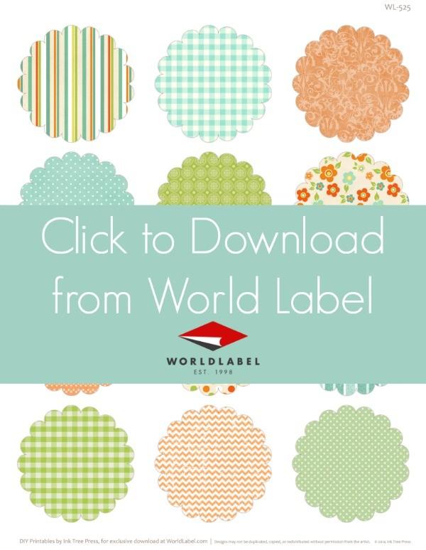 Printable Easter Labels from WorldLabel.com