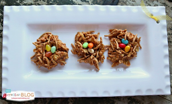 Birds Nest Cookies are a tradition! - Click on the photo for the recipe.