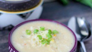 Creamy Chipotle Cauliflower Soup
