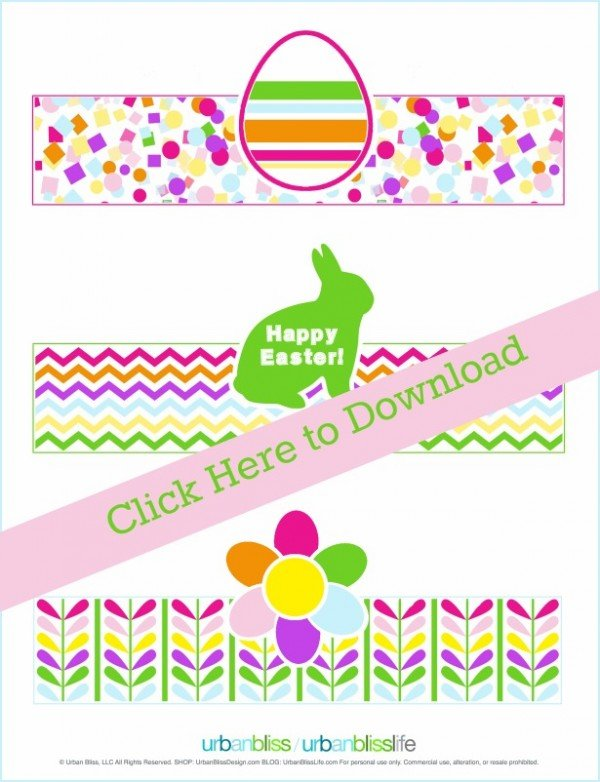 Free Printable Easter Egg Holders | Today's Creative Life