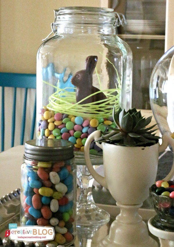 Easter Table Decorating Ideas | TodaysCreativeBlog.net