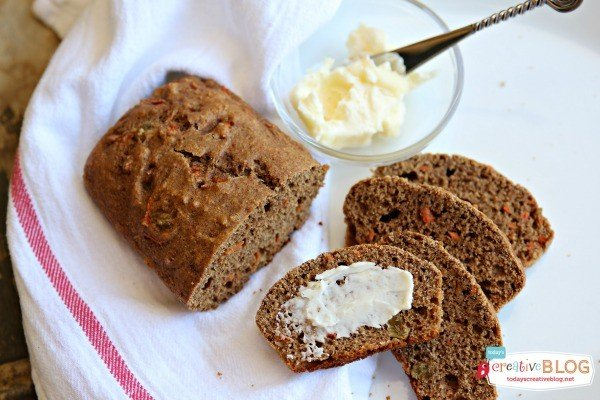 Sweet Garden Bread Healthy Recipe | TodaysCreativeBlog.net