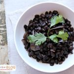 Slow Cooker Seasoned Black Beans No Soak | Slow Cooker Sunday | TodaysCreativeBlog.net