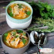Slow Cooker Turkey Barley Soup