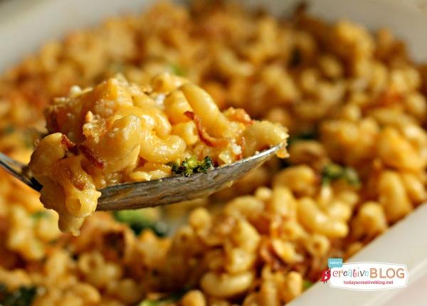 Doctored Box Mac and Cheese | Horizon Organics | TodaysCreativeBlog.net