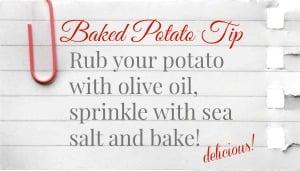 How to Bake a Delicious baked potato | TodaysCreativeBlog.net