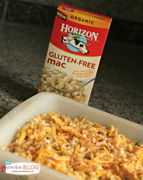 Doctored Box Mac and Cheese | Horizon Organics | TodaysCreativeBlog.net