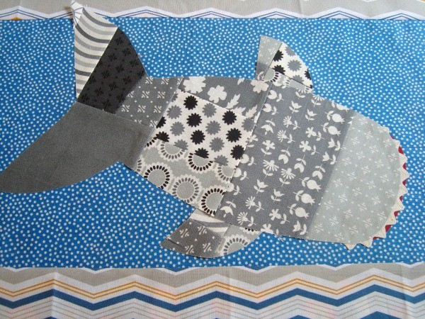 DIY Shark Pillow | TodaysCreativeBlog.net