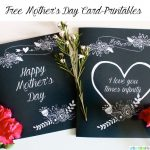 Free Printable Mother's Day Cards designed by UrbanBlissLife for TodaysCreativeLife.com - See more free printables on TodaysCreativeLife.com