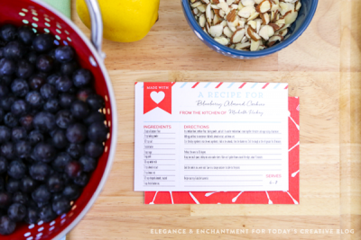Free Printable Recipe Cards make great gifts | Find more free printables on TodaysCreativeBlog.net