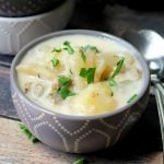 Slow Cooker Clam Chowder | Slow Cooker Sunday Recipes found on TodaysCreativeBlog.net