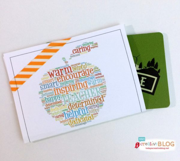Free Printable Teacher Appreciation Gift Card Holder ...