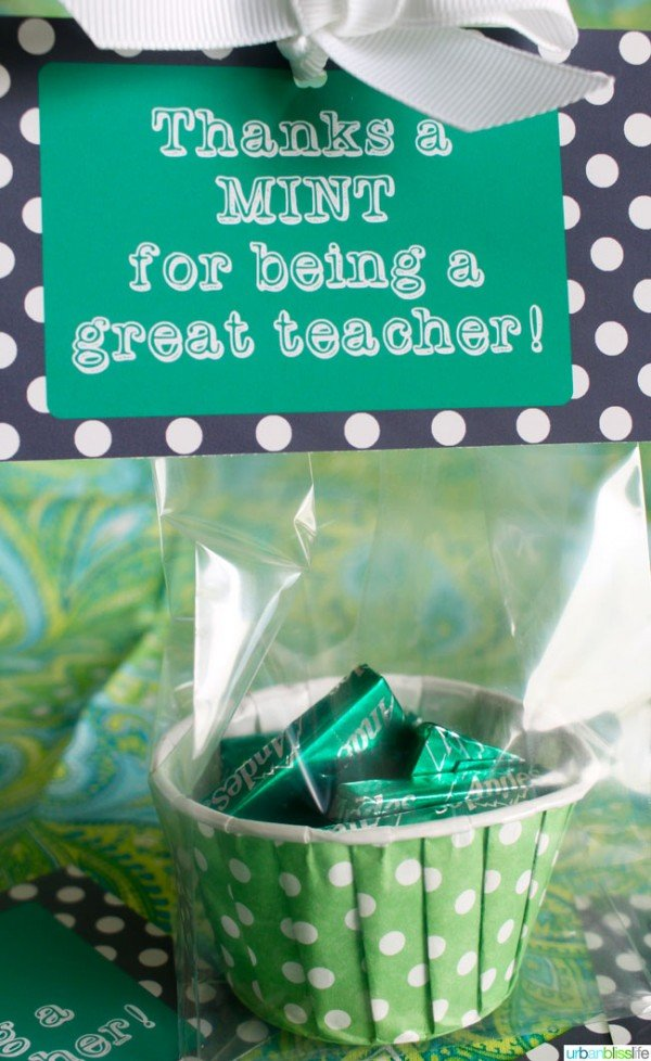 Teacher Appreciation Printable Gift Idea | TodaysCreativeBlog.net