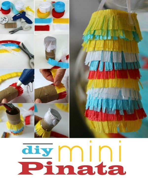 Planning a Birthday Party with Mini Pinatas! Tutorial on todaysCreativeLife.com