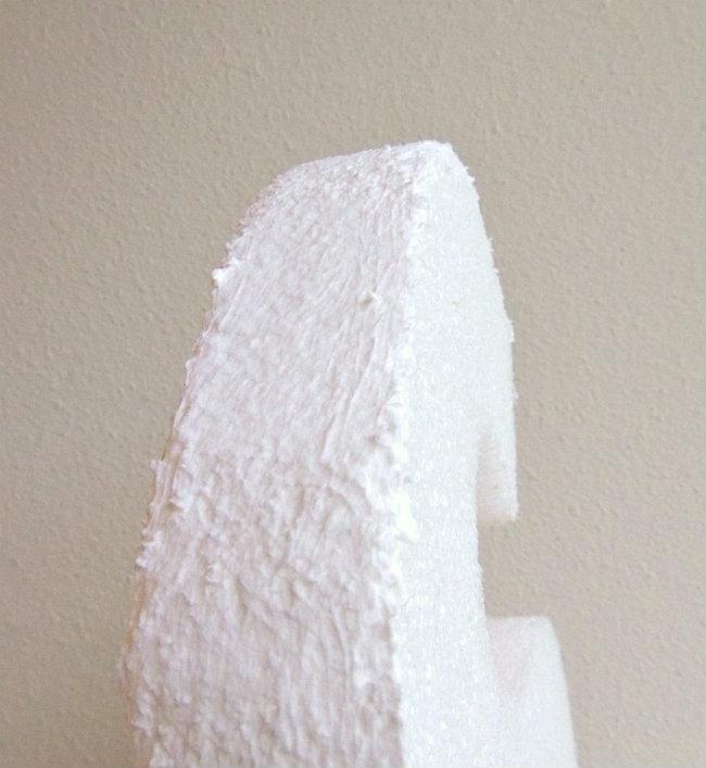 DIY Flower Covered Letters | TodaysCreativeBlog.net