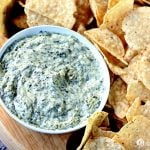 Slow Cooker Spinach Artichoke Dip | Slow Cooker Sunday | TodaysCreativeLIfe.com