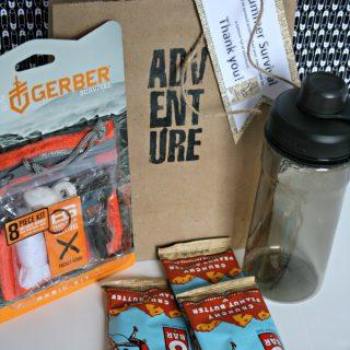 Male Teacher Gift - Summer Survival Kit | Teacher Appreciation Week | See more creative inspiration on Today'sCreativeLife.com