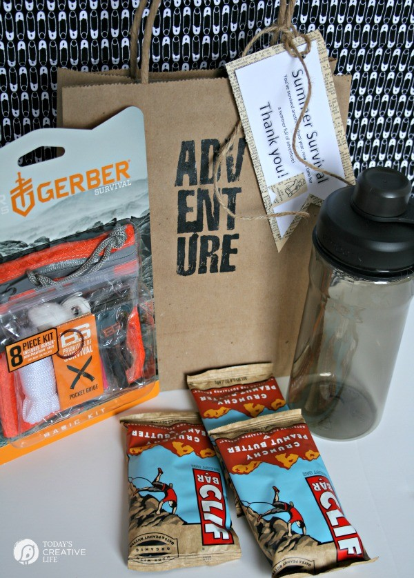 Male Teacher Gift - Summer Survival Kit - Today's Creative ...