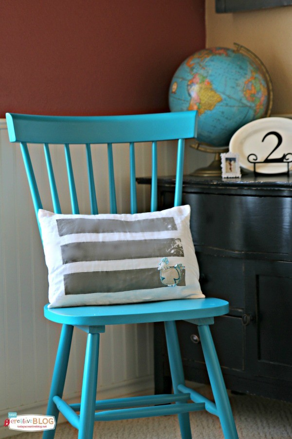 Stylish and Affordable Decorating | Transform your space with a pop of color! See more creative ideas on TodaysCreativeLife.com