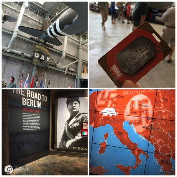 Family Friendly Ideas for New Orleans | See more creative ideas from TodaysCreativeLife.com | WWII Museum