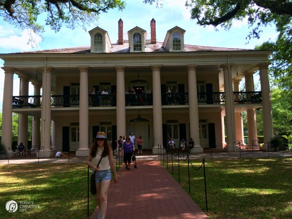 Family Friendly Ideas for New Orleans | See more creative ideas from TodaysCreativeLife.com | oak alley plantation