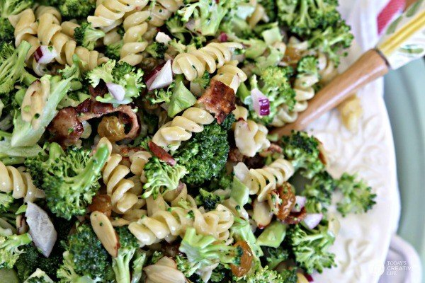 Broccoli Salad With Pasta - Today's Creative Life