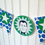 Father's Day Printables | Printable banner, bottle wrappers and food picks | See more on TodaysCreativeLife.com