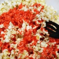 Red White & Blue Patriotic Popcorn